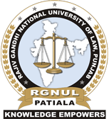 Rajiv Gandhi National University of Law, Punjab